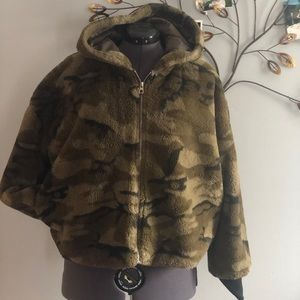 Teddy bear camo jacket